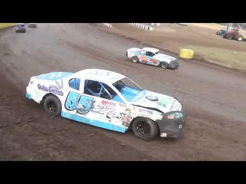 "Salina Speedway 6th Annual ""Mid America Clash"" IMCA Stock car *Heats* 9-30-18"