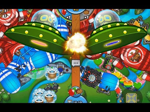 NEW AMAZING UFO SKINS!! - Bloons TD Battles Crazy Games