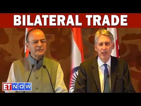 Indo-UK Trade Ties In Focus | Arun Jaitley and Philip Hammond