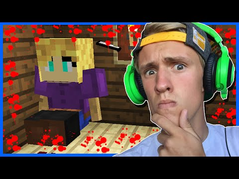 WHO'S THE KILLER!? | MINECRAFT ADVENTURE MAP | DETECTIVE DAN