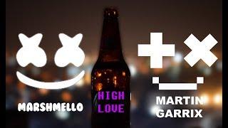 Video Marshmello x Martin Garrix - High love download MP3, 3GP, MP4, WEBM, AVI, FLV Februari 2018