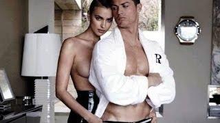 Криштиану Роналдо и Ирина Шейк снялись в откровенной фотосессии