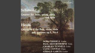 Quartet for Flute, Guitar, Viola and Cello, D.96: V. Tema con variazioni