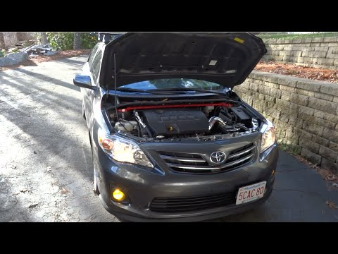 Modifications To My 2013 Toyota Corolla Update Youtube
