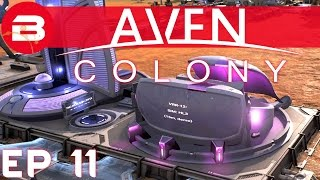 Aven Colony Gameplay - VIRTUAL REALITY #11 (Let's Play Aven Colony Beta)