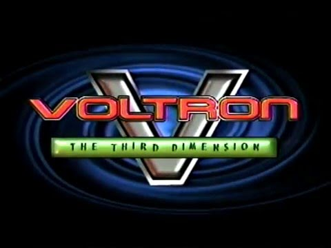 Voltron and Voltron the Third Dimension Previews (2000 VHS)