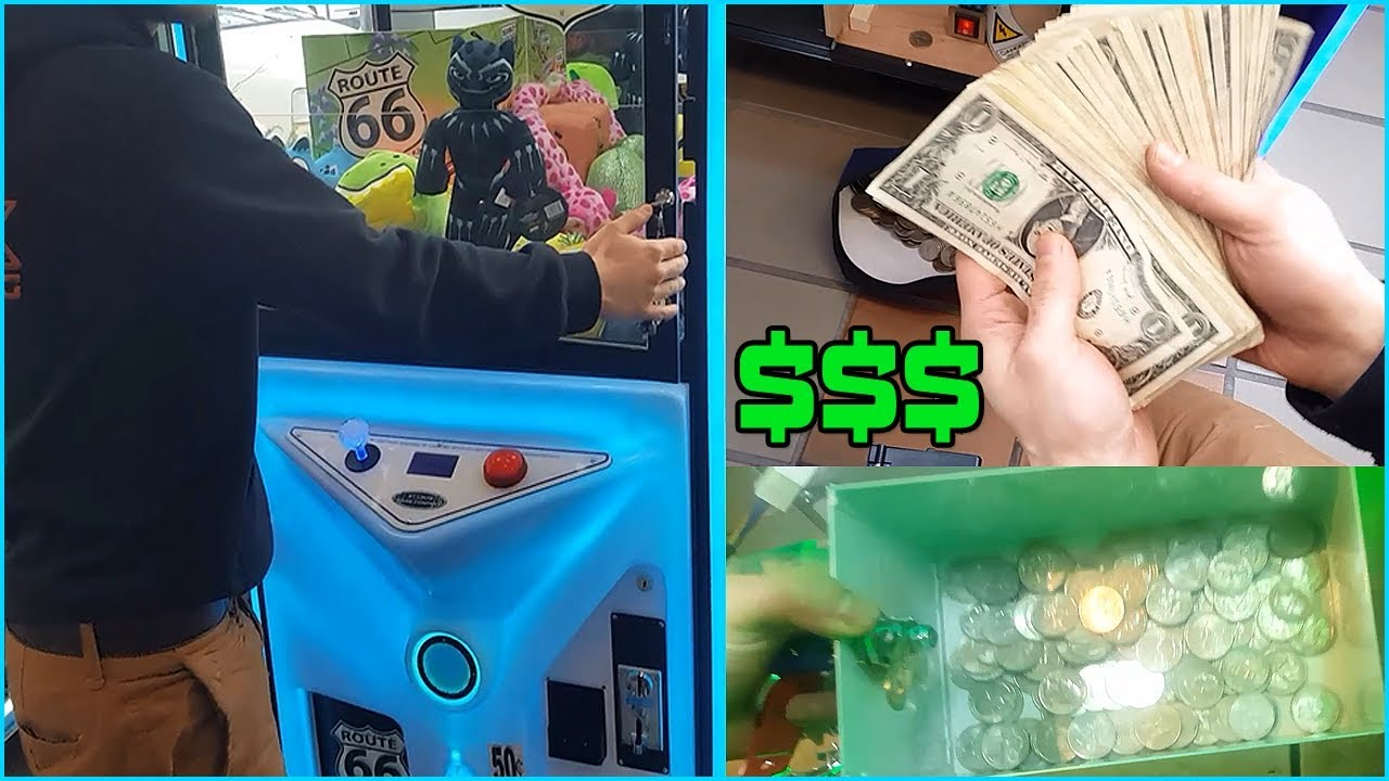 how to make money from claw machine