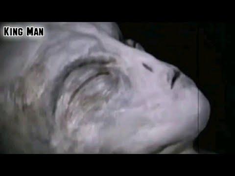 Video viral de extraterrestre gris filtrado de la base secreta del área 51 en Nevada EEUU