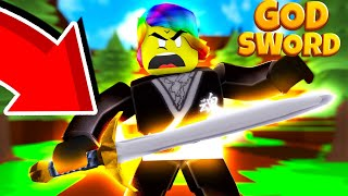 UNLOCKING THE ULTIMATE GOD SWORD und WOW.. * TOO RARE* (Roblox Ninja Wizard Simulator)