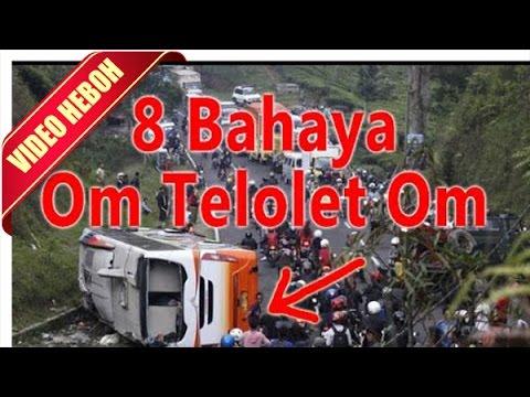Merinding...!!! Inilah 8 Bahaya Om Telolet Om Kepada Bus Ini
