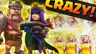 Clash of Clans - HEALER & HEROES ONLY ATTACK! - Crazy Attacks & Raids!