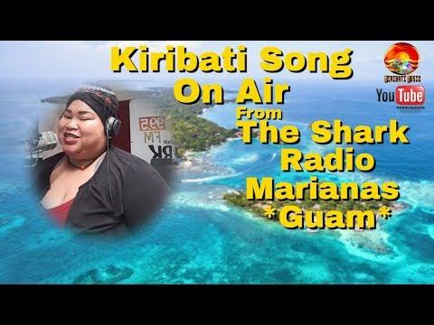 Kiribati Song On Air from the radio of Guam. Nei Tei Marianas e bubura toan rangana