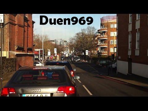 London Streets (517.) - Barons Court - A4 - M4 - A329 (M) - Wokingham