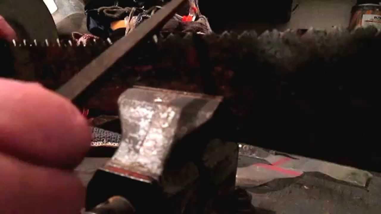 Приёмы пиления ножовкой древесины - YouTube