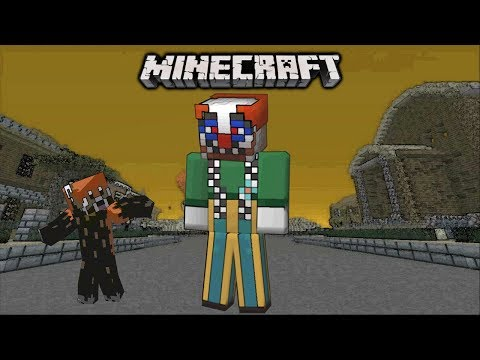 Minecraft Xbox: You'll Float Too Murder Mystery | Killer Sewer Clown!