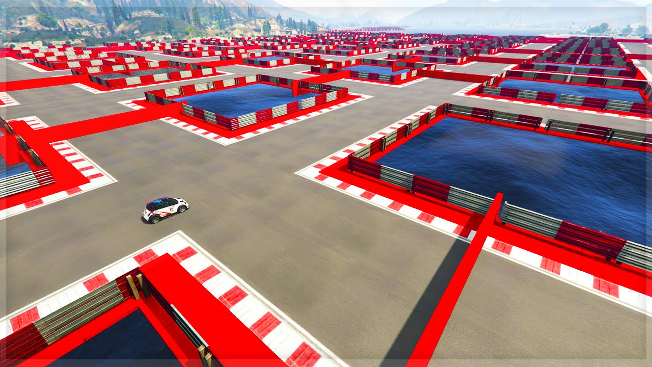 GTA Online Jobs On Film: Stunt Races Created by the Social Club