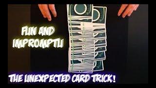 KICKER ENDING Card Trick! Intermediate Card Trick Performance And Tutorial