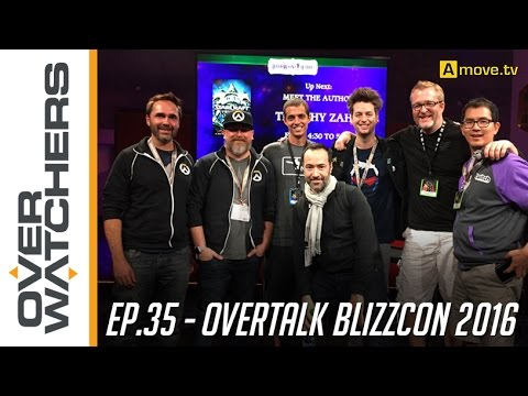 "#35 - Overwatchers: ""OverTalk - BlizzCon 2016"""