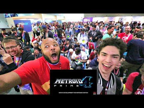 ULTIMATE CROWD REACTION LIVE FROM E3 2017 - NINTENDO SPOTLIGHT, Metroid Prime 4, Super Mario Odyssey
