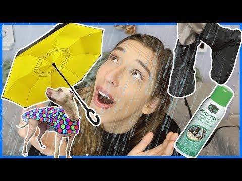 Testing Useful Rain Products!