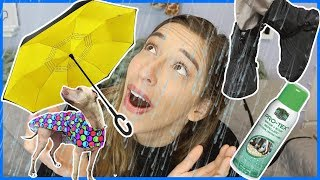 Testing Useful Rain Products!