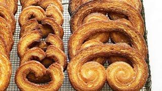 Martha Stewart's Easy 3 Ingredient Palmier Cookies | Martha Bakes | #Shorts