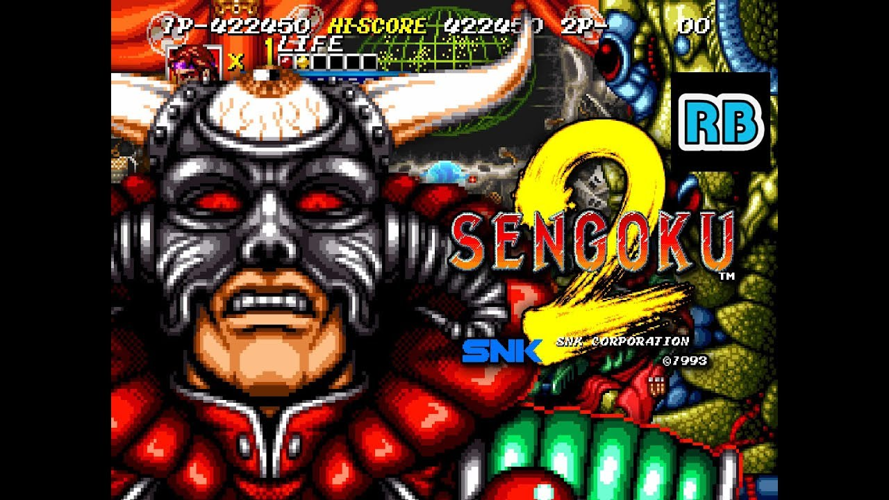 1993 [60fps] Sengoku 2 ALL