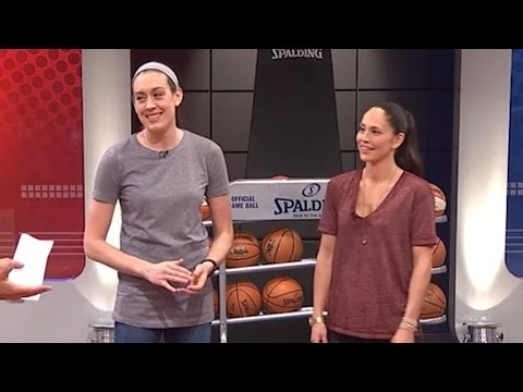sue bird amp amp breanna stewart join gametime september 21 2016 wnba playoffs 2016