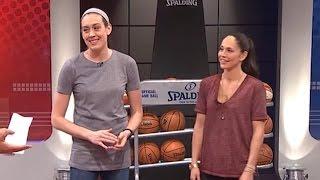 Sue Bird & Breanna Stewart Join GameTime | September 21, 2016 | WNBA Playoffs 2016