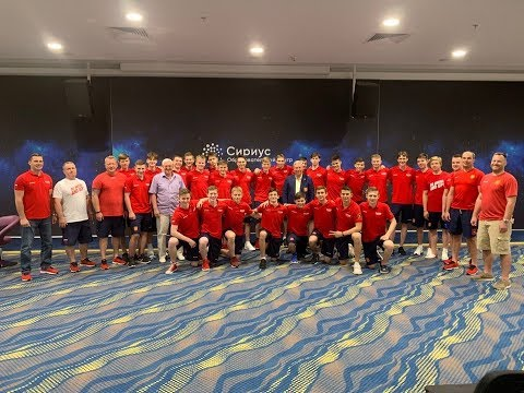 Russia U16 hockey