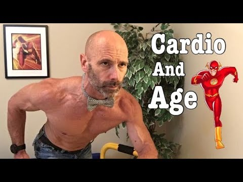 Improve your cardio as you age into your 40's, 50's, 60's and beyond