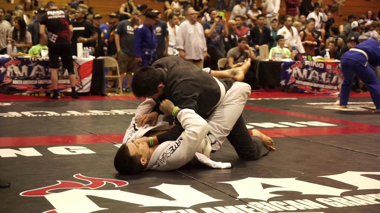 BJJ NAGA Tournament 2018 - First Competition - White Belt - Director RD2