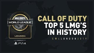 Top 5 Call of Duty LMG's In History!