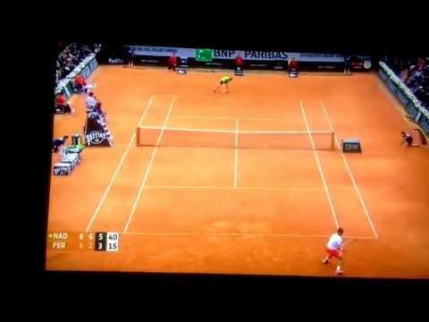 Rafa Nadal wins French Open 2013