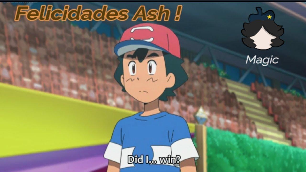 Mi opinión de que  Satoshi/Ash ganara la liga