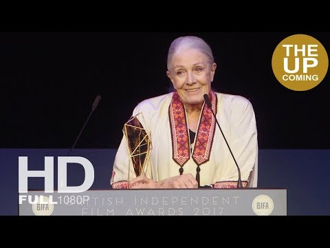 Vanessa Redgrave remembers Richard Harris at BIFAs 2017 as she receives award