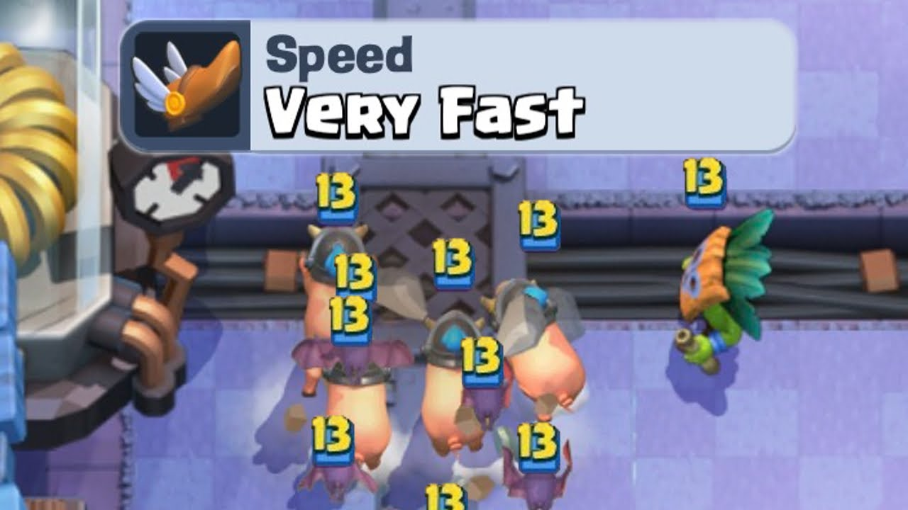 The fastest deck in the history of Clash Royale