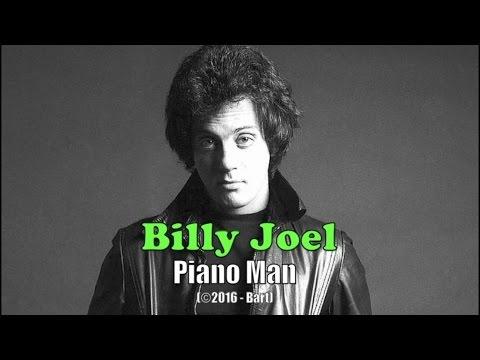 Billy Joel - Piano Man (Karaoke)