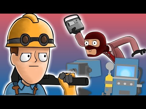 Scout's Engineer Day - A Team Fortress 2 Animation