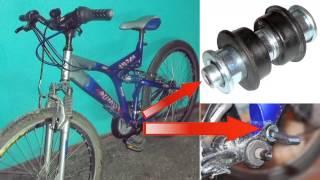 Втулка рамы для двухподвеса, замена, ремонт велосипеда .