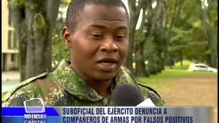 Suboficial del Ejército denuncia a compañeros de armas por falsos positivos thumbnail