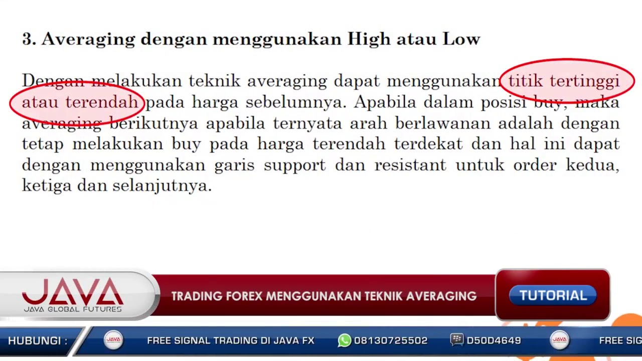 Jurus Anti Rugi Trading Forex