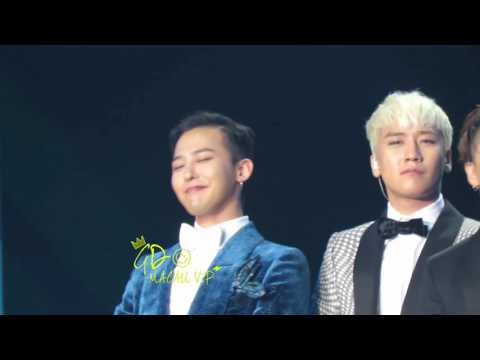 20160323 QQ MUSIC AWARD BIGBANG G-DRAGON FANCAM