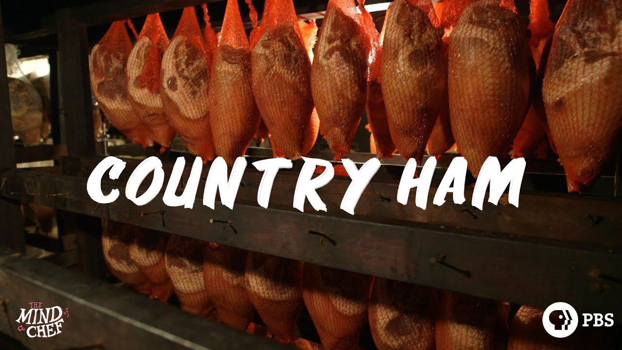 Col. Bill Newsom\'s Aged Kentucky Country Ham House - YouTube