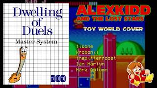 Alex Kidd and The Lost Stars - Toy World (Jazz Band Cover)