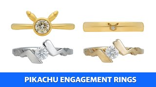 Pikachu engagement rings are here