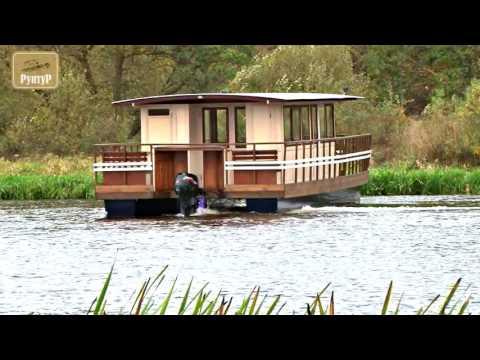 Яхта-катамаран (плавдача) 'Нарочанка'