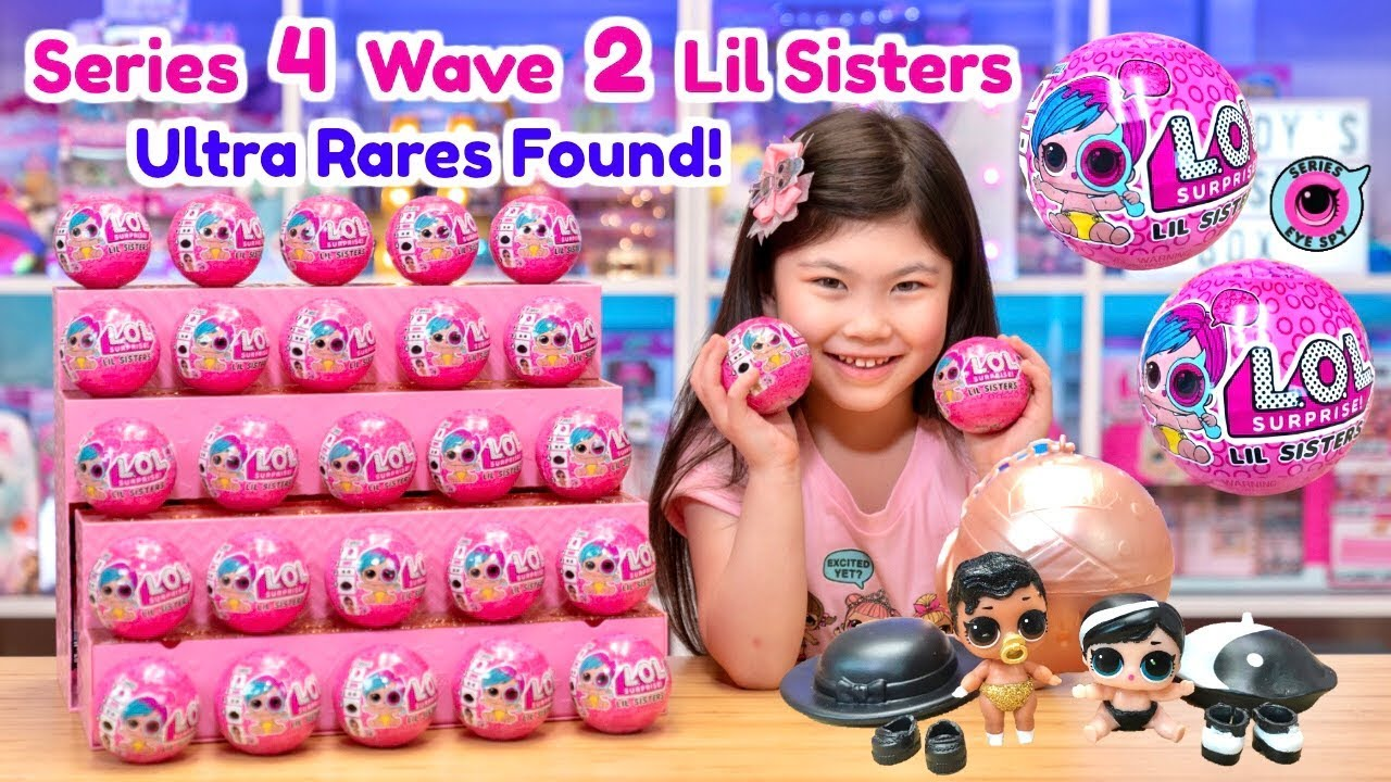 Bag FOR LOL Surprise LiL Sisters L.O.L MISS JIVE doll toy SERIES 2