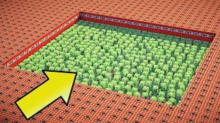 10.000 ТНТ ПРОТИВ 1000 КРИПЕРОВ В МАЙНКРАФТ ! TNT VS CREEPERS MINECRAFT