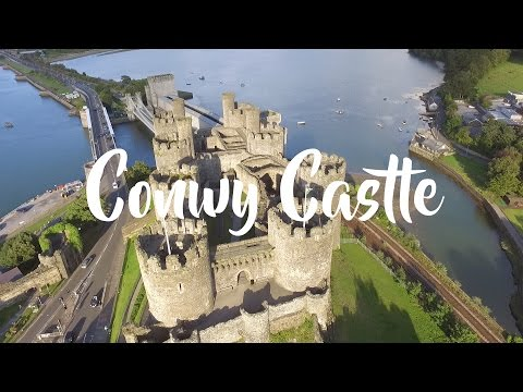 Conwy Harbour & Castle | DJI Phantom